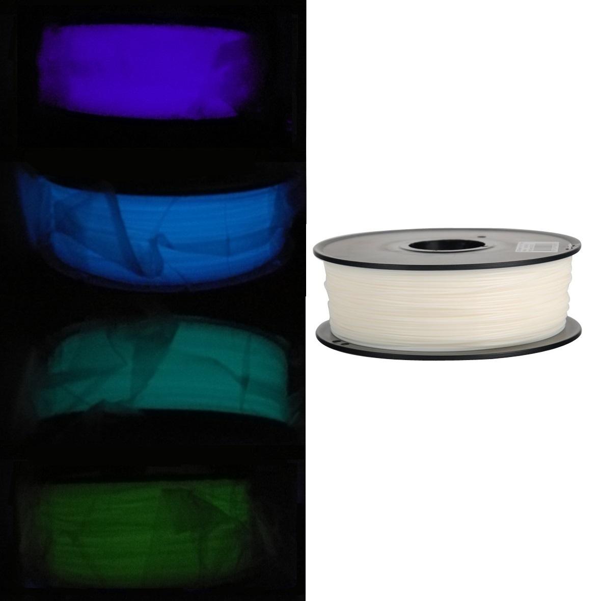 Selten 1kg Popular Brand Fluoreszierender Pla 3d Druck Filament 1.75mm 1000g Viele Farben!